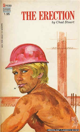 Pleasure Reader PR360 - The Erection by Chad Stuart, cover art by Robert Bonfils (1972)