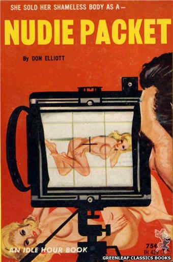 Idle Hour IH429 - Nudie Packet by Don Elliott, cover art by Robert Bonfils (1965)