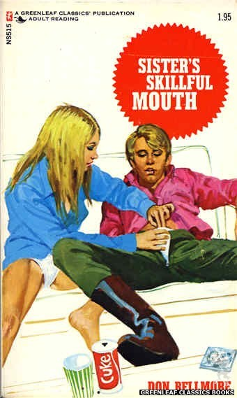 Nitime Swapbooks NS515 - Sister's Skillful Mouth by Don Bellmore, cover art by Unknown (1973)