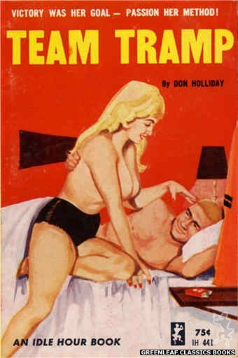 Idle Hour IH441 - Team Tramp by Don Holliday, cover art by Unknown (1965)