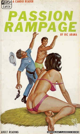 Candid Reader CA924 - Passion Rampage by Ric Arana, cover art by Ed Smith (1968)