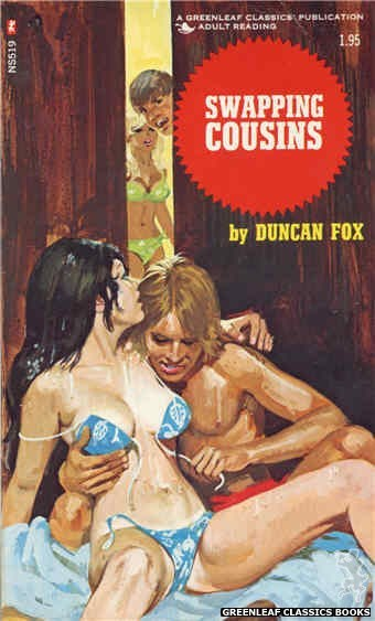 Nitime Swapbooks NS519 - Swapping Cousins by Duncan Fox, cover art by Robert Bonfils (1973)