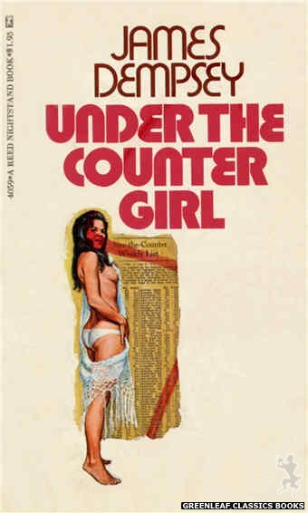 Reed Nightstand 4059 - Under the Counter Girl by James Dempsy, cover art by Ed Smith (1974)