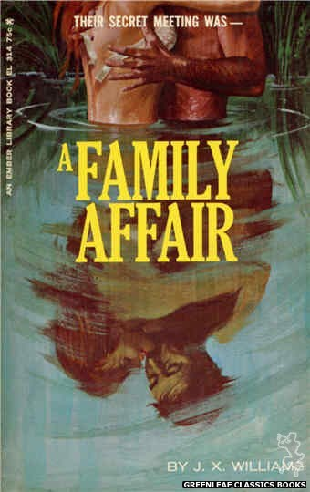 Ember Library EL 314 - A Family Affair by J.X. Williams, cover art by Robert Bonfils (1966)