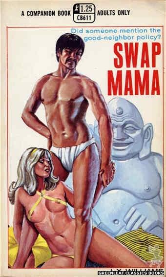 Companion Books CB611 - Swap Mama by J.X. Williams, cover art by Ed Smith (1969)