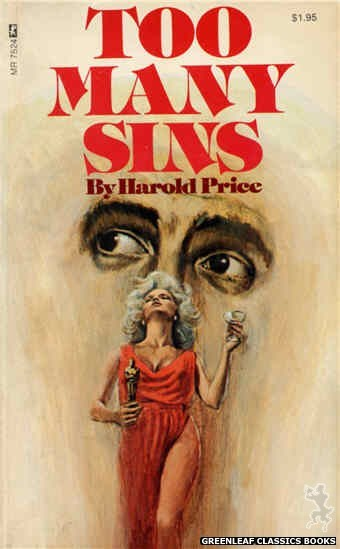 Midnight Reader 1974 MR7524 - Too Many Sins by Harold Price, cover art by Unknown (1974)
