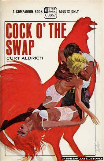 Companion Books CB657 - Cock O' The Swap by Curt Aldrich, cover art by Robert Bonfils (1970)