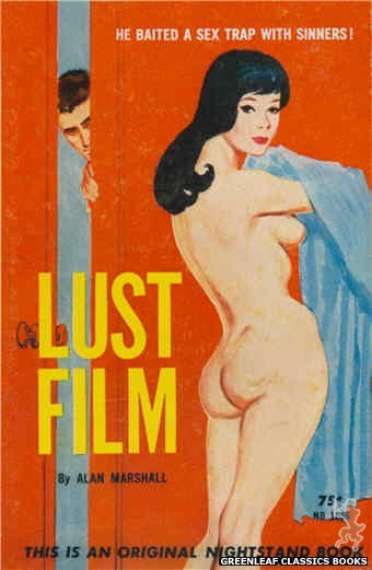 Nightstand Books NB1636 - Lust Film by Alan Marshall, cover art by Unknown (1962)