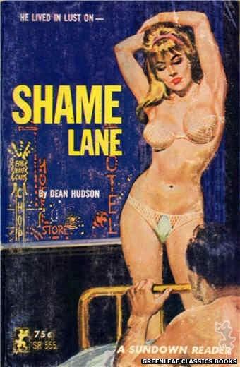 Sundown Reader SR555 - Shame Lane by Dean Hudson, cover art by Unknown (1965)