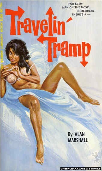 Ember Library EL 355 - Travelin' Tramp by Alan Marshall, cover art by Robert Bonfils (1966)
