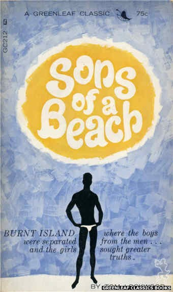 Greenleaf Classics GC212 - Sons of a Beach by Tom Lockwood, cover art by Unknown (1966)