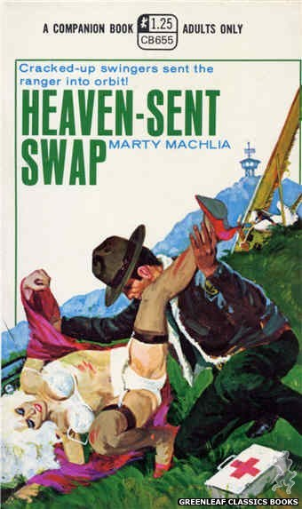 Companion Books CB655 - Heaven-Sent Swap by Marty Machlia, cover art by Unknown (1970)