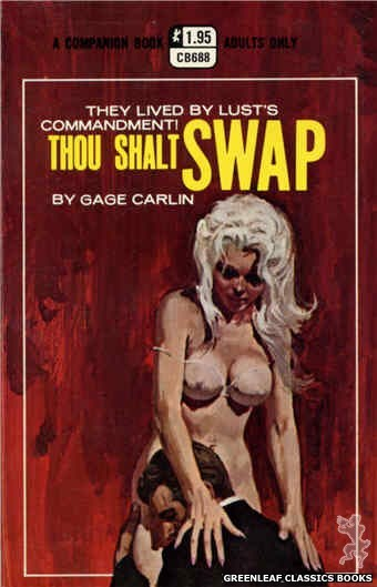 Companion Books CB688 - Thou Shalt Swap by Gage Carlin, cover art by Robert Bonfils (1970)