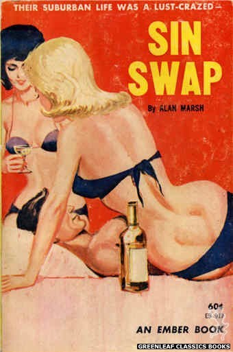 Ember Books EB917 - Sin Swap by Alan Marsh, cover art by Unknown (1964)
