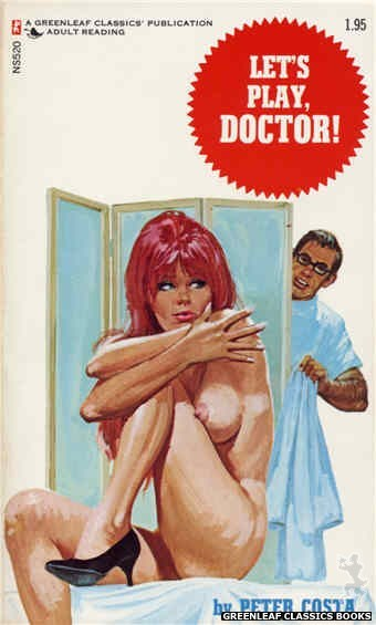Nitime Swapbooks NS520 - Let's Play, Doctor! by Peter Costa, cover art by Unknown (1973)