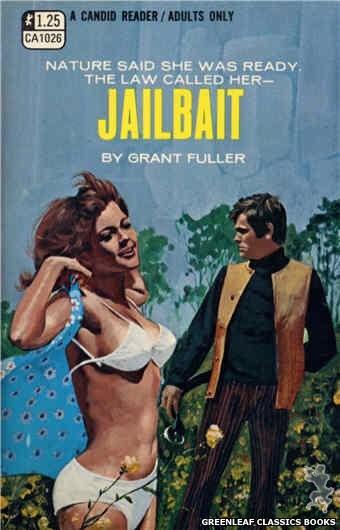 Candid Reader CA1026 - Jailbait by Grant Fuller, cover art by Darrel Millsap (1970)