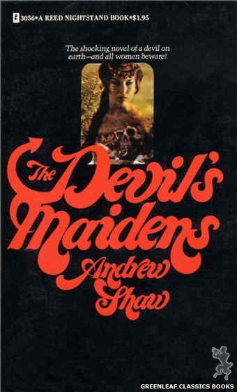 Reed Nightstand 3056 - The Devil's Maidens by Andrew Shaw, cover art by Photo Cover (1973)