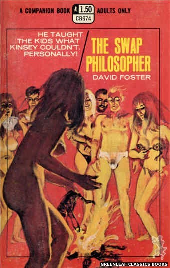 Companion Books CB674 - The Swap Philosopher by David Foster, cover art by Robert Bonfils (1970)