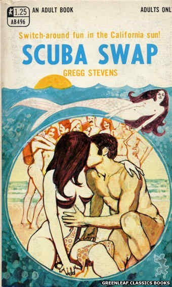 Adult Books AB496 - Scuba Swap by Gregg Stevens, cover art by Unknown (1969)