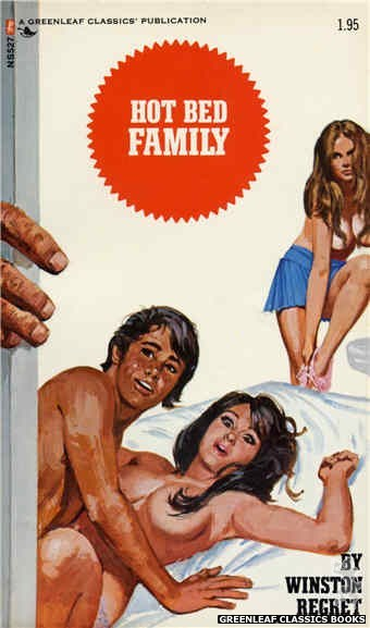 Nitime Swapbooks NS527 - Hot Bed Family by Winston Regret, cover art by Unknown (1973)