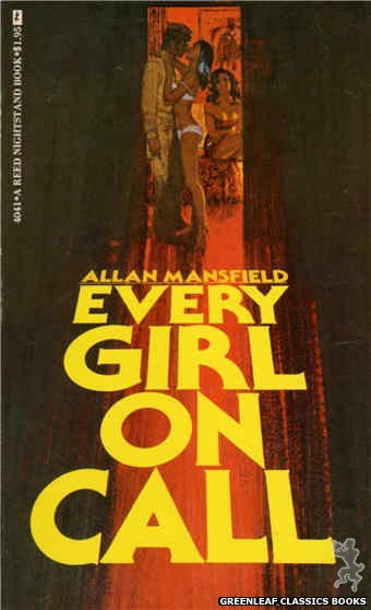 Reed Nightstand 4041 - Every Girl On Call by Allan Mansfield, cover art by Robert Bonfils (1974)