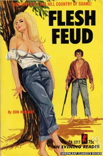Evening Reader ER1217 - Flesh Feud by Don Holliday, cover art by Unknown (1966)