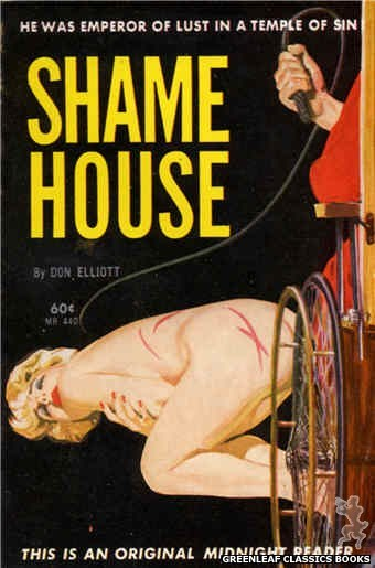 Midnight Reader 1961 MR440 - Shame House by Don Elliott, cover art by Unknown (1962)