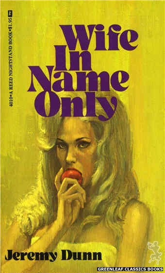 Reed Nightstand 4010 - Wife In Name Only by Jeremy Dunn, cover art by Unknown (1974)