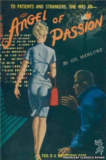 Nightstand Books NB1810 - Angel of Passion by Gil Marlowe, cover art by Unknown (1966)