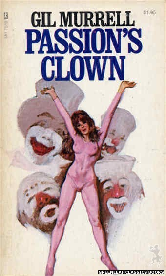 Midnight Reader 1974 MR7510 - Passion's Clown by Gil Murrell, cover art by Unknown (1974)