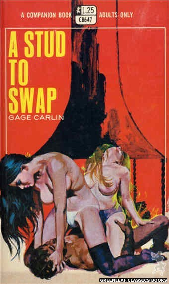 Companion Books CB647 - A Stud To Swap by Gage Carlin, cover art by Robert Bonfils (1970)