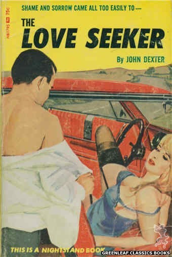 Nightstand Books NB1795 - The Love Seeker by John Dexter, cover art by Unknown (1966)