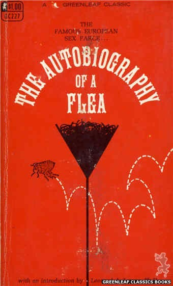 Greenleaf Classics GC227 - The Autobiography of a Flea by No-Author-Listed, cover art by Unknown (1967)