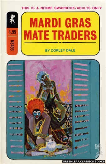 Nitime Swapbooks NS403 - Mardi Gras Mate Traders by Corley Dale, cover art by Robert Bonfils (1970)
