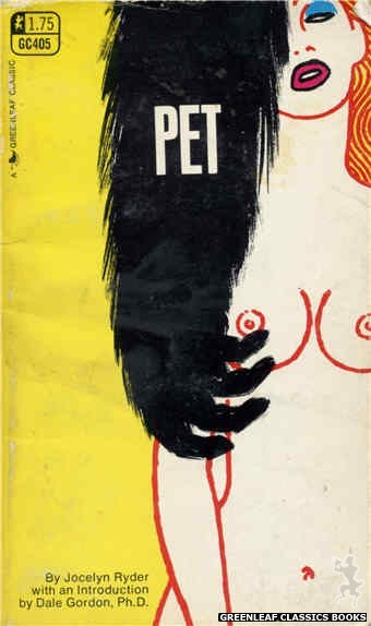 Greenleaf Classics GC405 - Pet by Jocelyn Ryder, cover art by Harry Bremner (1969)
