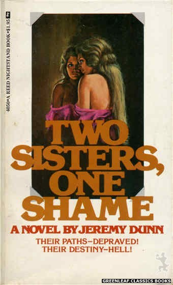 Reed Nightstand 4050 - Two Sisters, One Shame by Jeremy Dunn, cover art by Ed Smith (1974)