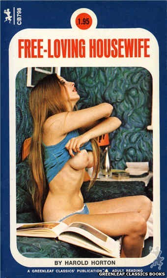 Companion Books CB798 - Free-Loving Housewife by Harold Horton, cover art by Photo Cover (1973)
