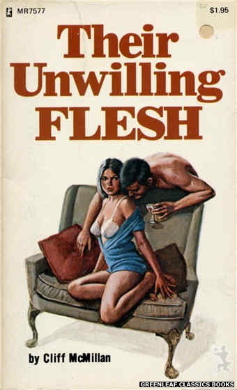 Midnight Reader 1974 MR7577 - Their Unwilling Flesh by Cliff McMillan, cover art by Ed Smith (1975)