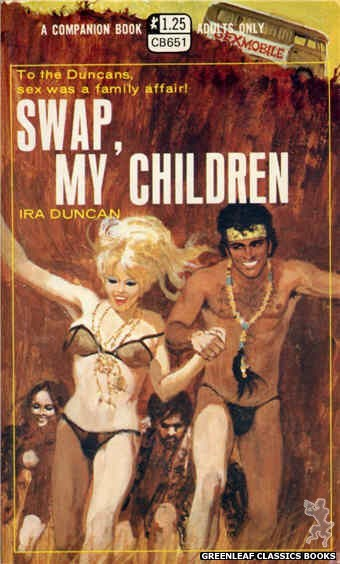 Companion Books CB651 - Swap, My Children by Ira Duncan, cover art by Robert Bonfils (1970)