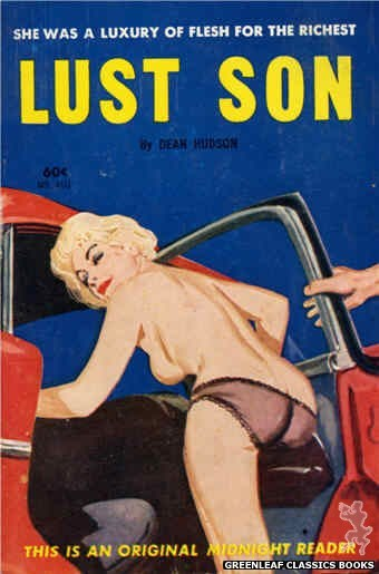 Midnight Reader 1961 MR450 - Lust Son by Dean Hudson, cover art by Unknown (1962)