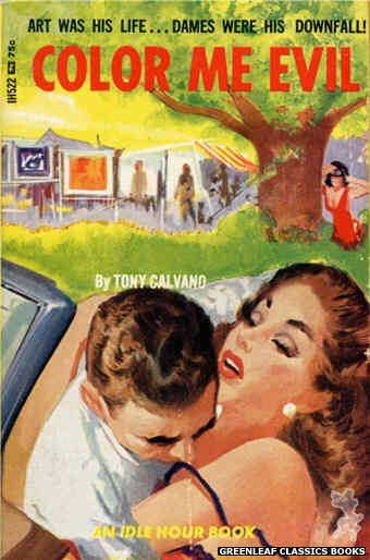 Idle Hour IH522 - Color Me Evil by Tony Calvano, cover art by Unknown (1966)