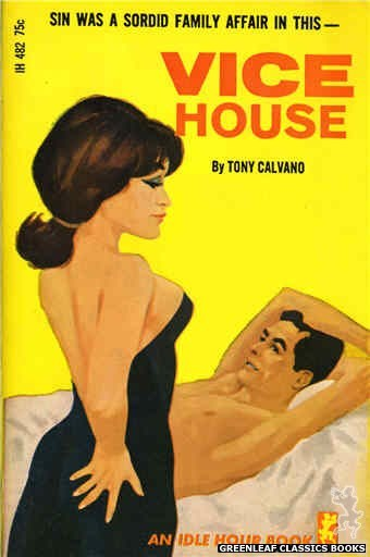 Idle Hour IH482 - Vice House by Tony Calvano, cover art by Darrel Millsap (1966)