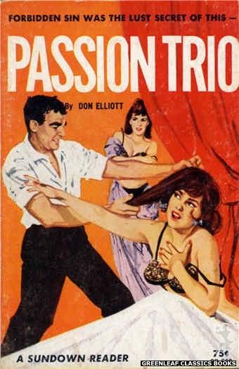 Sundown Reader SR502 - Passion Trio by Don Elliott, cover art by Unknown (1964)