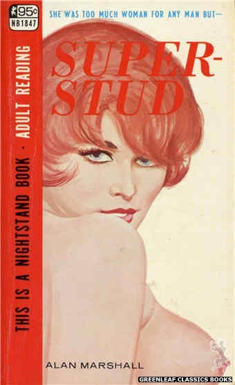 Nightstand Books NB1847 - Super-Stud by Alan Marshall, cover art by Unknown (1967)
