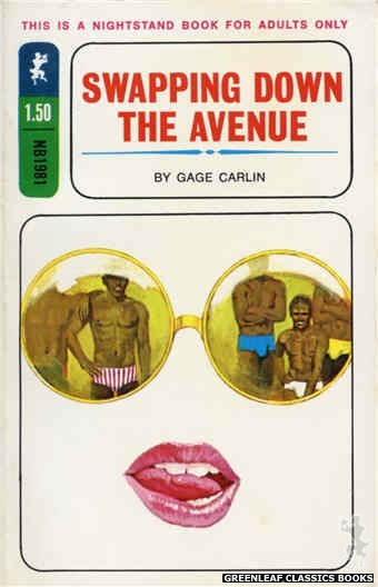 Nightstand Books NB1981 - Swapping Down the Avenue by Gage Carlin, cover art by Unknown (1970)