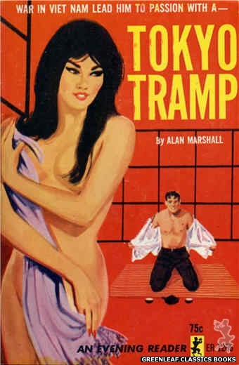 Evening Reader ER1206 - Tokyo Tramp by Alan Marshall, cover art by Unknown (1965)