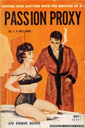Ember Books EB923 - Passion Proxy by J.X. Williams, cover art by Unknown (1964)