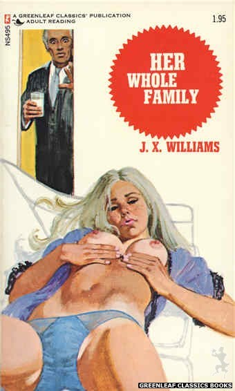 Nitime Swapbooks NS495 - Her Whole Family by J.X. Williams, cover art by Unknown (1972)