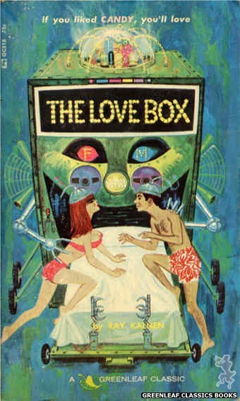 Greenleaf Classics GC218 - The Love Box by J.X. Williams, cover art by Unknown (1966)