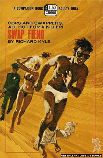 Companion Books CB669 - Swap Fiend by Richard Kyle, cover art by Robert Bonfils (1970)